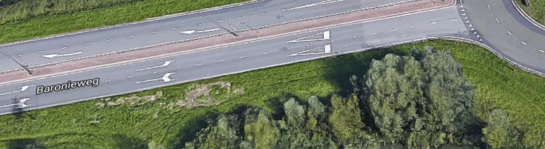 Vanuit richting IJsselstein